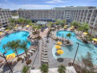 fountain resort at Orlando